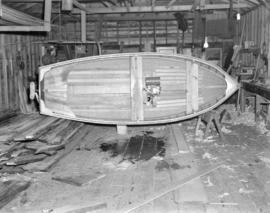 [Boat under construction]