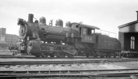 [Vancouver Harbour Commissioners Terminal Railway  Steam] Yard  Eng. #204