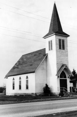 [Exterior of Matsqui Evangelical Lutheran Church