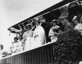 South Vancouver Queen after crowning, July 8, 1936