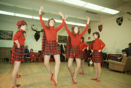 Highland dance performance