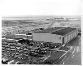C.P. Air's newly built hangar