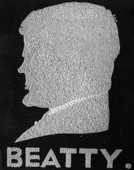 Sir Edward Beatty, G.B.E., K.C., LL.D. President, Canadian Pacific Railway [silhouette in wheat]