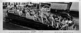 B.C. Electric Railway observation car and passengers