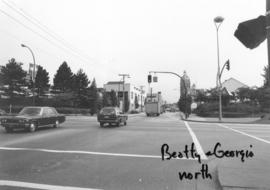 Beatty and Georgia [streets looking] north