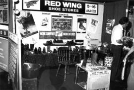 Red Wing Shoe Stores display