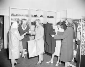 [Women shopping at the Junior League Thrift Shop]