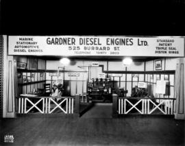 Gardner Diesel Engines display