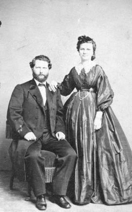 [Mr. and Mrs. Godfrey Oppenheimer]