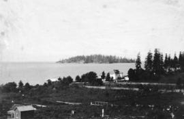[View of Trail Island from Sechelt]