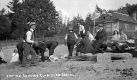 Empire Service Club Clam Social [at Greer's Beach]