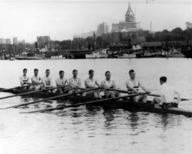 Coal Harbour 1931, Vancouver Rowing Club eight
