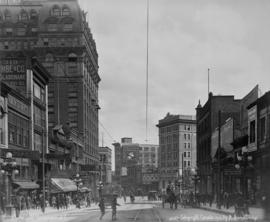 Hastings Street [looking towards Cambie Street intersection]