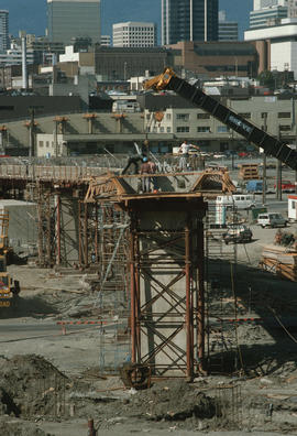 Cambie Bridge Construction [35 of 76]