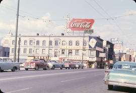 Granville Street, Cunningham Drugs and neon signs