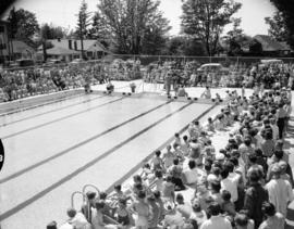 Opening Ceremonies [for the] Kerrisdale Community Centre Swimming Pool