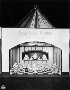 Interlake Tissue Mills Co. display of paper products