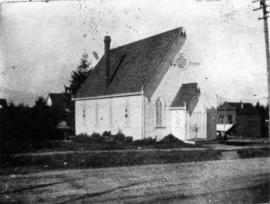 [Exterior of Mount Pleasant Methodist church - northwest corner of Westminster and Ninth Avenues]