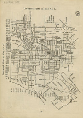 Sectional map and street directory of Vancouver : [Griffiths Avenue to Eglinton Street to Joffre ...