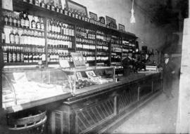 Wm. Urquhart Wines and Liquors, Cigars and Tobacco, interior