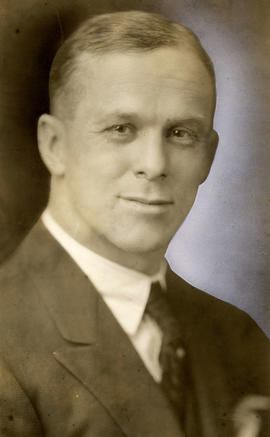 W.J. Barrett-Leonard, accountant for Vancouver admin. 1930's