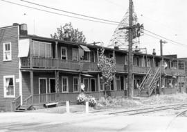 [Exterior of building (cabins) - 1593 West 3rd Avenue]