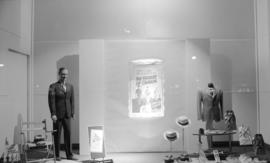 Hudson Bay Company Father's Day window display