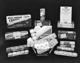[Display of National Biscuit Company products]