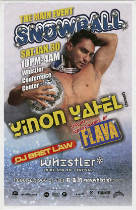 The main event Snowball : Sat. Jan. 30 : Whistler Conference Center : Yinon Yafael (Israel)