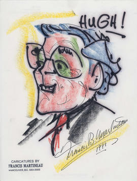 Caricature of Hugh Pickett