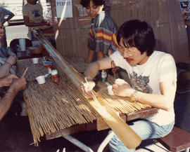 Jim Wong-Chu and Carol Wong at Powell Street Festival