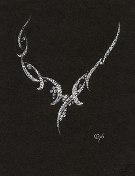 Necklace drawing 59 of 214