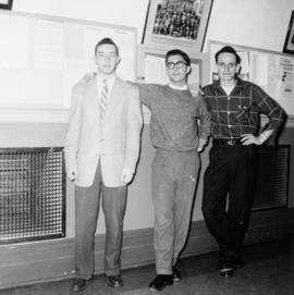 Group of three unidentified men