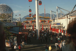 5 [Expo 86 gondola, view]