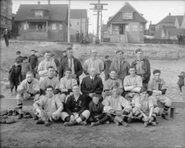 [B.C. Telephone baseball team]