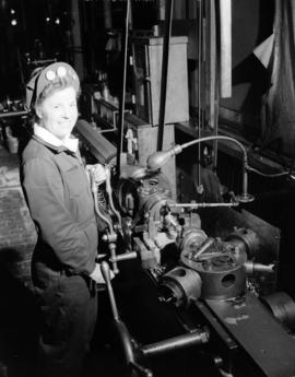 Burrard Shipyard - Mrs. Edna Pearce - Tool Room Specialist