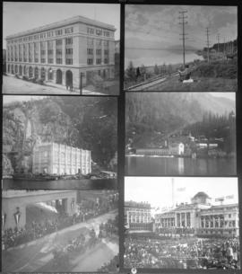 [Various scenes regarding the activities of the B.C. Electric Railway Company]