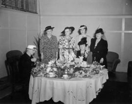 Ladies at tea party