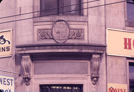 "Crest ""Merchant's Bank"" - 1 West Hastings Street"