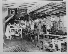 Interior of cannery