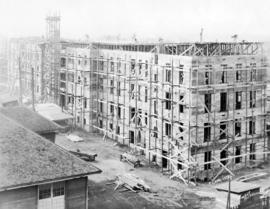 [The Infectious Disease building under construction at Vancouver General Hospital]
