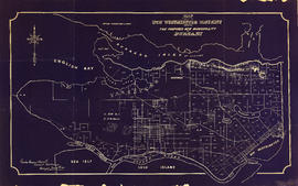 Map of part of the New Westminster District shewing the proposed new municipality of Burnaby