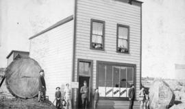 [Exterior of the E.C. Coulding Law Office and A.W. Ross Real Estate building on Hastings Street b...