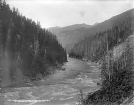 Columbia River canyon, near Revelstoke, B.C.