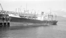 M.S. J.L. Luckenbach [at dock]