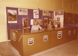 Chevron National Travel Card display booth