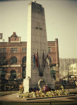 Cenotaph at Victory Square
