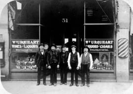 Wm. Urquhart Wines and Liquors, Cigars and Tobacco, exterior