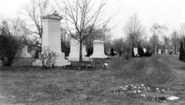 Banfield plot, Mt. Pleasant Cemetary, Toronto