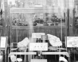 Cariboo Gold Quartz Mining Company - Gold in Birks Window [at 710 Granville Street]